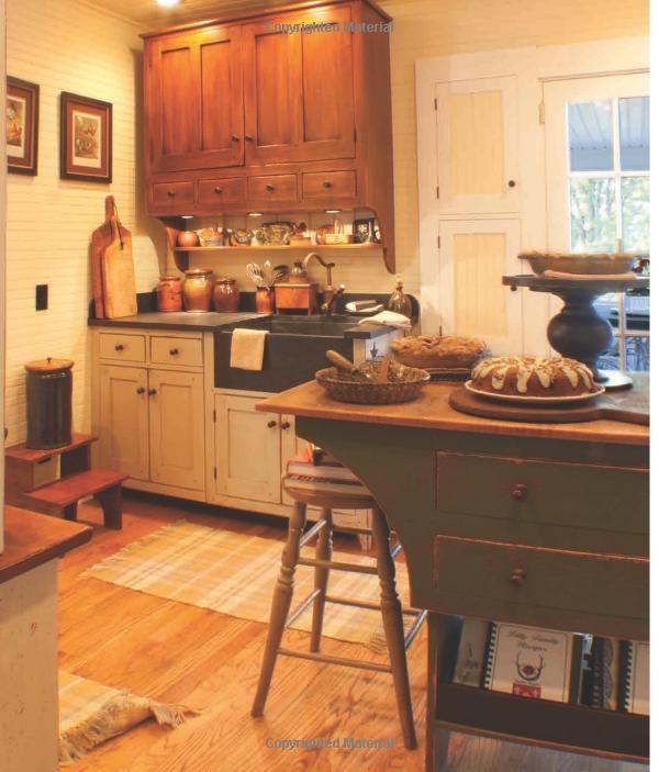 primitive kitchen cabinet plans 218 best primitive kitchens images on pinterest primitive