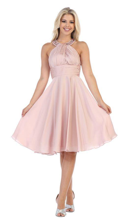 NEW SHORT BRIDESMAID GRADUATION HOMECOMING DRESS COCKTAIL PROM SEMI FORMAL  DANCE HOMECOMING DRESS  79ba1d5cc