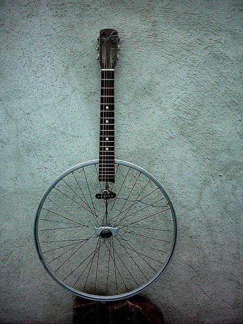 Recycled Instrument by Martin Malii-Karlsson https://www.pinterest.com/Yeshuaschild/