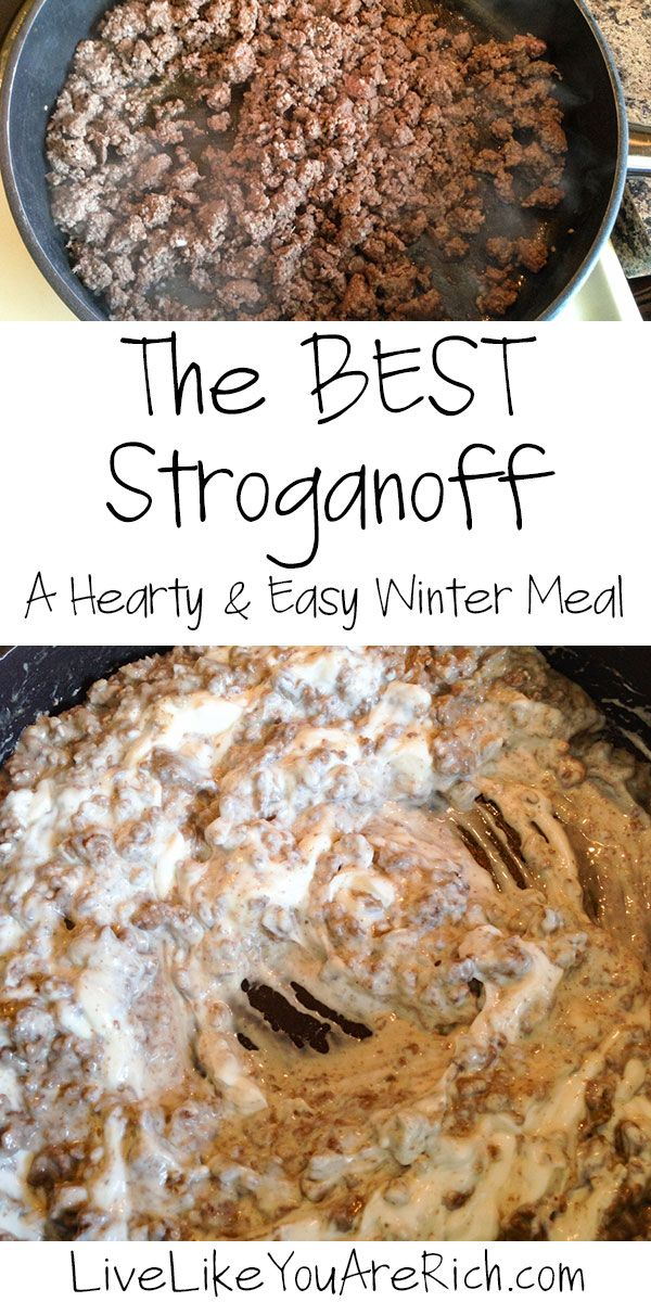 Best 25 hearty meal ideas on pinterest meatloaf recipe bbq the best stroganoffturkey or beef ground beef recipesturkey recipeseasy hamburger meat recipescomfort food recipeshealthy dinner forumfinder Image collections