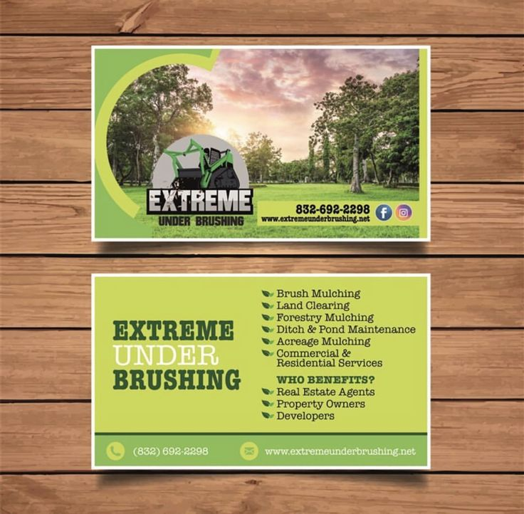 Forestry Business Cards Gallery - Business Card Template