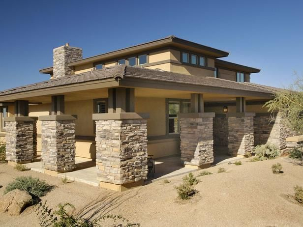 Prairie modern architecture craftsman style pinterest for Modern house columns