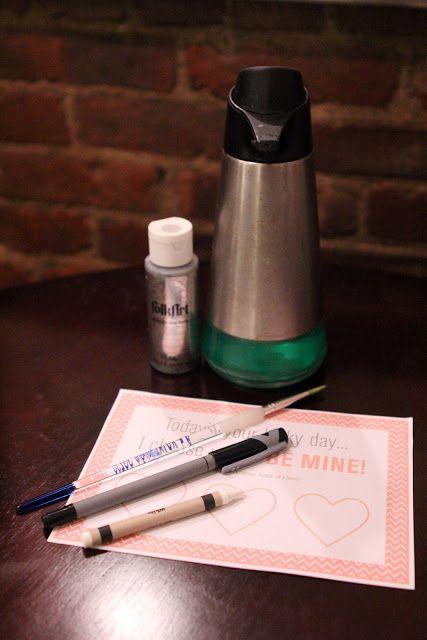 DIY Scratch-Off Valentine Cards