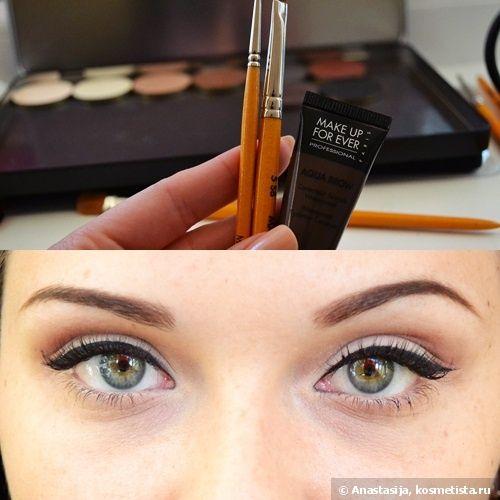 Klasik makyaj - kırmızı dudaklar ve siyah oklar - kozmetik Yorumları - Kosmetista