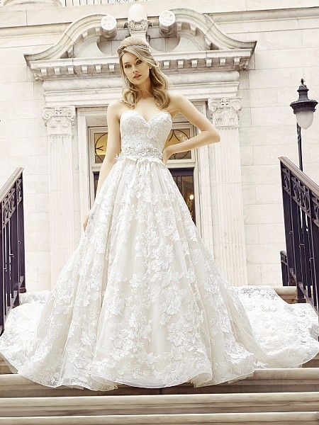 Lace Ball Gown Ophelia Wedding Dress Style D8125