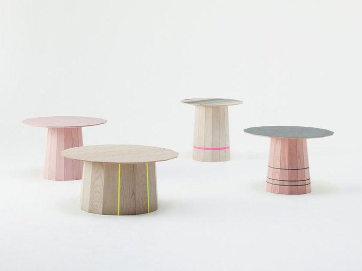 茶几 COLOUR WOOD by Karimoku New Standard 设计师Scholten