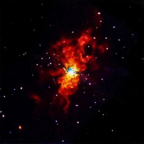 Supernova Explodes 21st Jan 2014