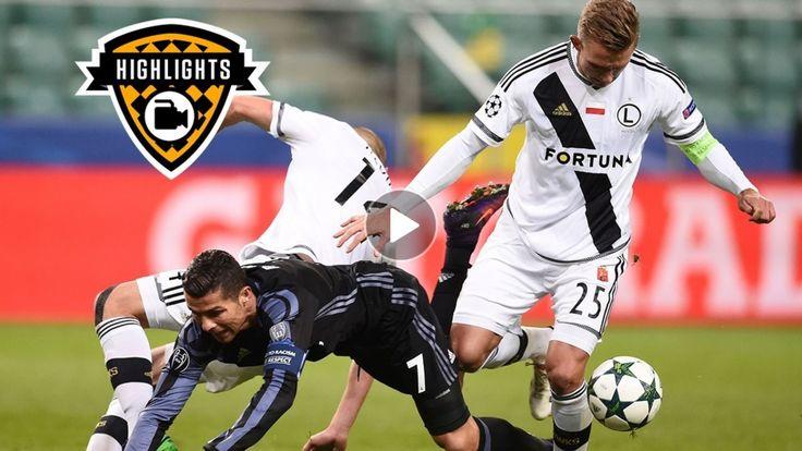 Legia Warsaw 3-3 Real Madrid