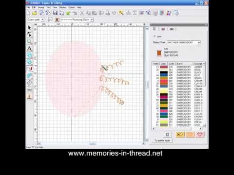 PE Design tutorial - How to get line sewing twice.mp4