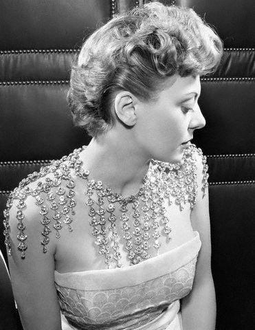 1950s Dior necklace.