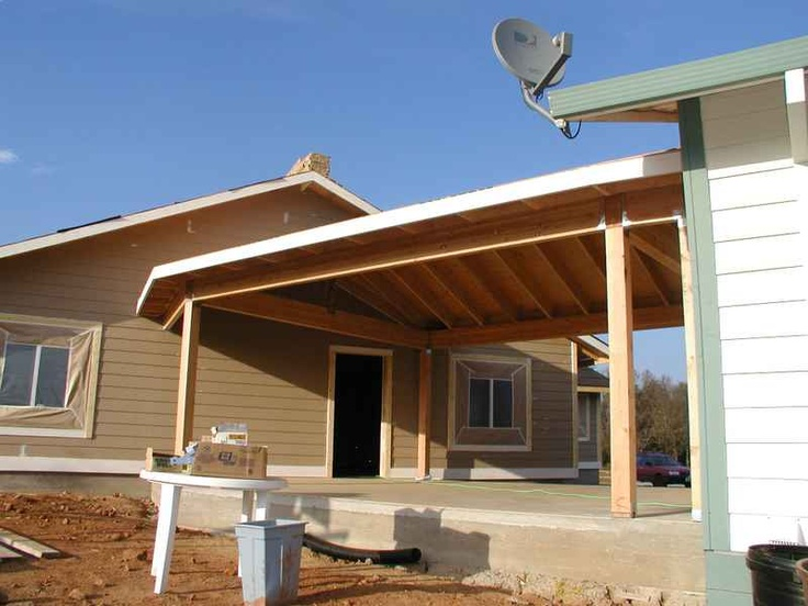Carport breezeway between house and shop fort reno rd - Houses with carports photos ...