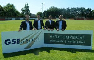 GSE GROUP TO SPONSOR HYTHE TOWN FOOTBALL CLUB