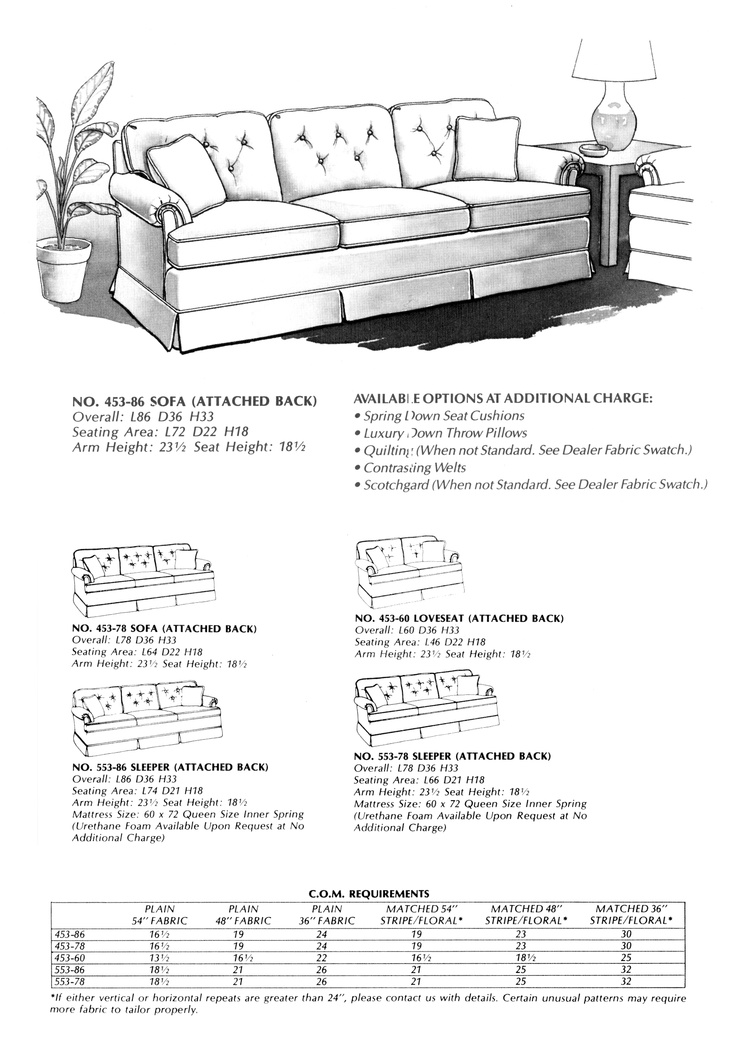 Sectional Sleeper Sofa Stanton Cooper Attached Back Sofa No
