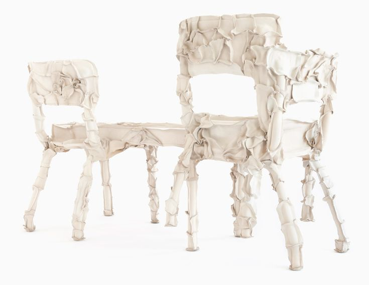 Schön Pepe Heykoop Turns Waste Leather Into Furniture With Skin Series