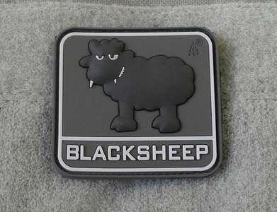Blacksheep Schwarzes Schaf 3D Rubber Morale Patch Abzeichen Klett Velcro SWAT   eBay