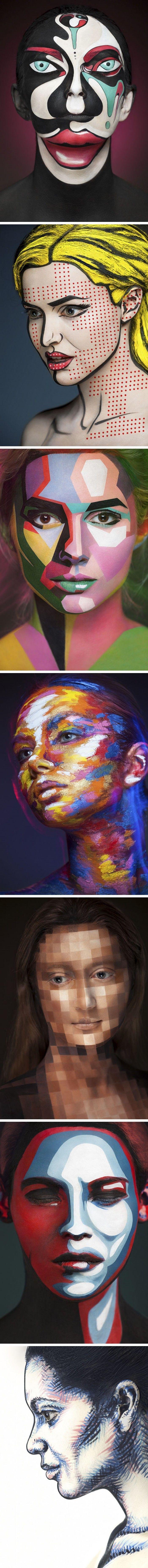 Olağanüstü Makyaj Sanatı www.4finite.com