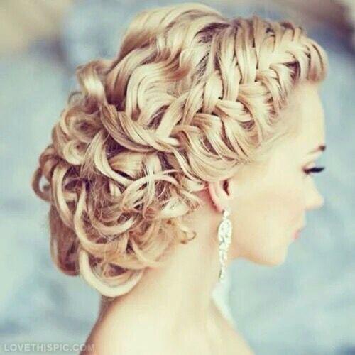 fashionweddingdre... | Coming Soon | Follow Us Hairstyle  elegant,  curls,  blonde -  #fashion,  #Prom #style,  #updo #wedding,  lashes