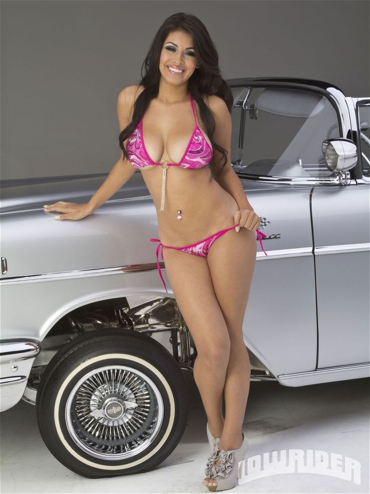 cars and bikini models magazine