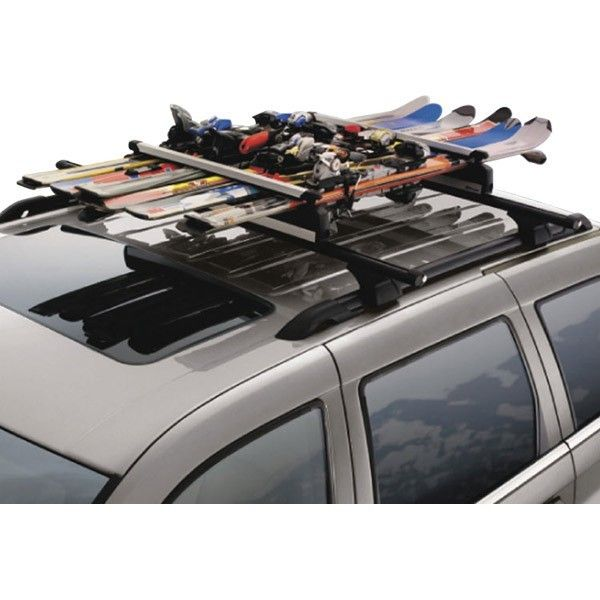 Roof Top Ski Carrier Made By Thule Carry Up To 6 Pairs Of Skis