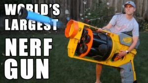 These Guys Built The Worlds Largest Nerf Gun!