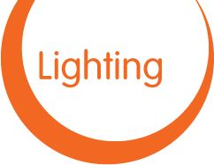 Lighting for hire | AVA Party Hire