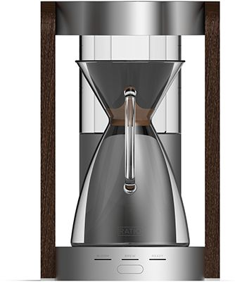 RATIO COFFEE MAKER - Inspired by the precision of manual brewing with pourover kettles, Ratio uses a unique showerhead design to uniformly saturate the coffee gr...