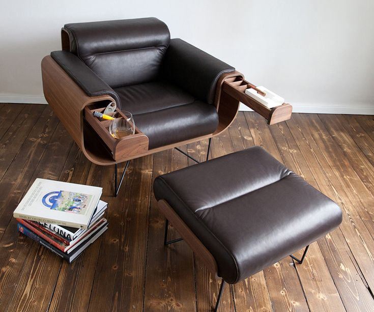This chair was designed specifically for cigar aficionados