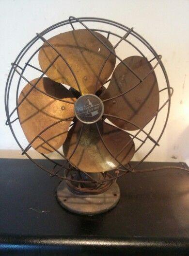 Emerson Desk Fan : Best images about antique brass blade fans pre s