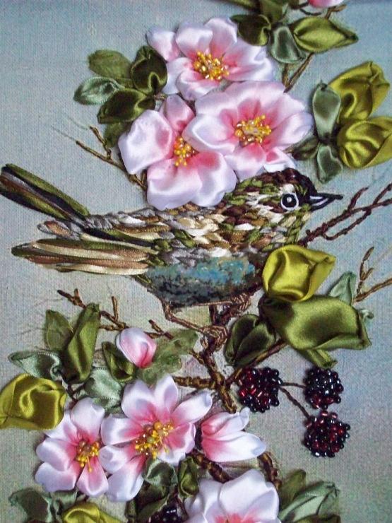 Ribbon embroidery & Stumpwork--Daniel 2006