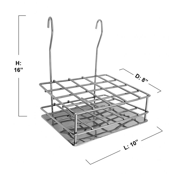 Perdiem Hanging Cutlery Holder Stand for Kitchen - SS  #Kriosdirect