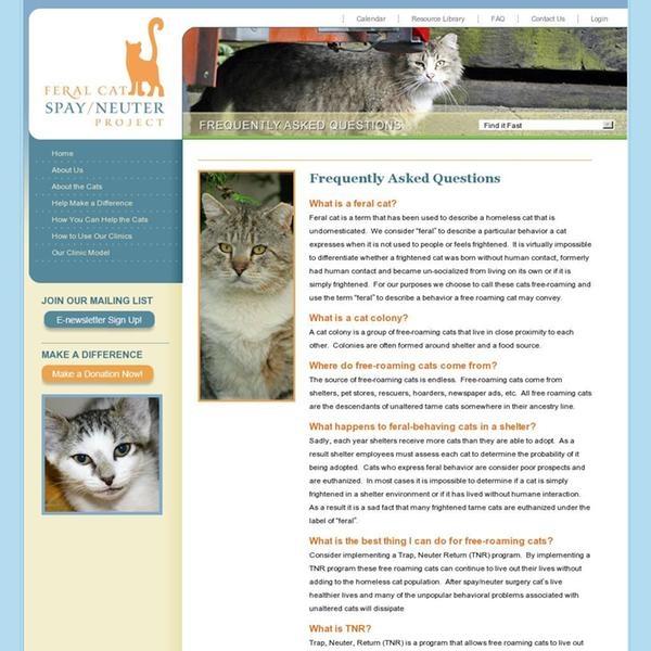 FAQ - Spay Neuter Clinic - spayaz.com