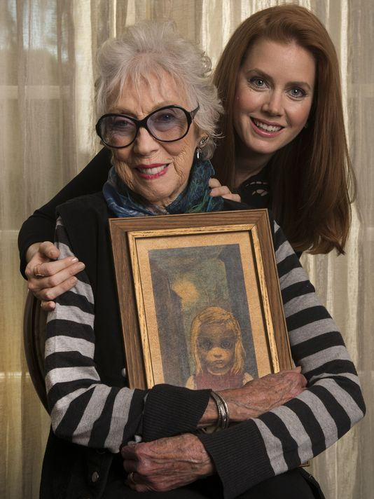 Margaret Keane Art Today | Actress Amy Adams portrays artist Margaret Keane in 'Big Eyes ...