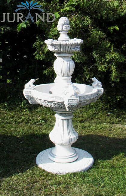 Springbrunnen Fontãne Zierbrunnen Garten Deko Brunnen Frogia 150 Cm
