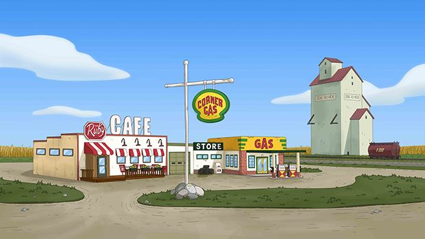Corner Gas Is Getting The Animated Treatment