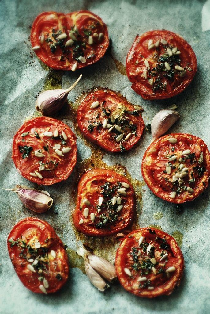 zupa krem z pieczonej papryki i pomidora