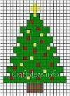 Fuse Beads Christmas Tree Pattern