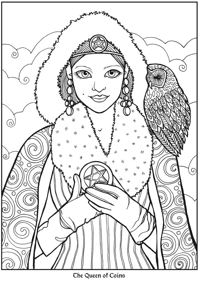 163 best Recolor images on Pinterest | Adult coloring pages ...