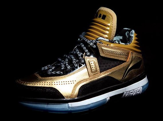 "Li-Ning Way of Wade Encore ""Gold Rush"""