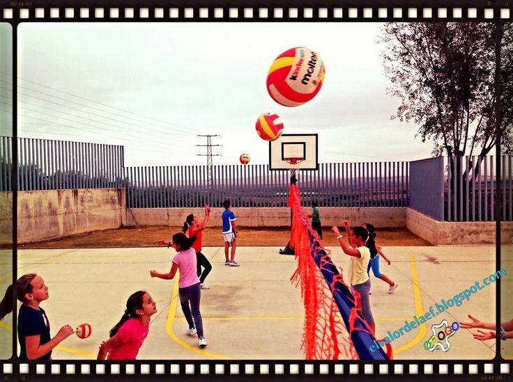 Iniciación deportiva en voleibol en educación física