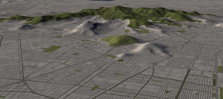 Cómo ver ciudades en 3D con un mapa interactivo mundial. Rompiendo el mapa satelital en beneficio de mapas interactivos y map virtuales