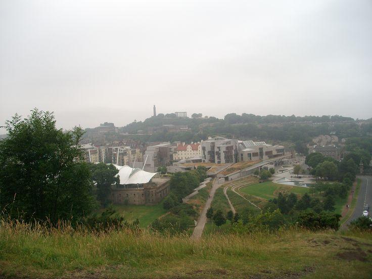 #edinburgh #scotland #view_from_arthurs_seat #halfway