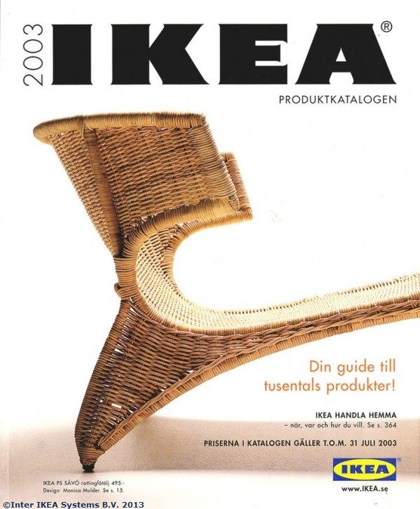 Coperta Catalogului IKEA 2003 Catalogue IkeaBoardsCatalog CoverBlankets