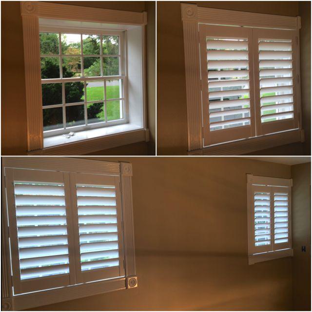 180 best images about plantation shutters on pinterest for Shutter window treatment ideas