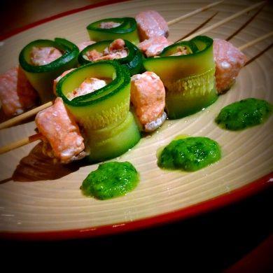 Paleo Diet – Spiedini di salmone al vapore – Senza glutine!