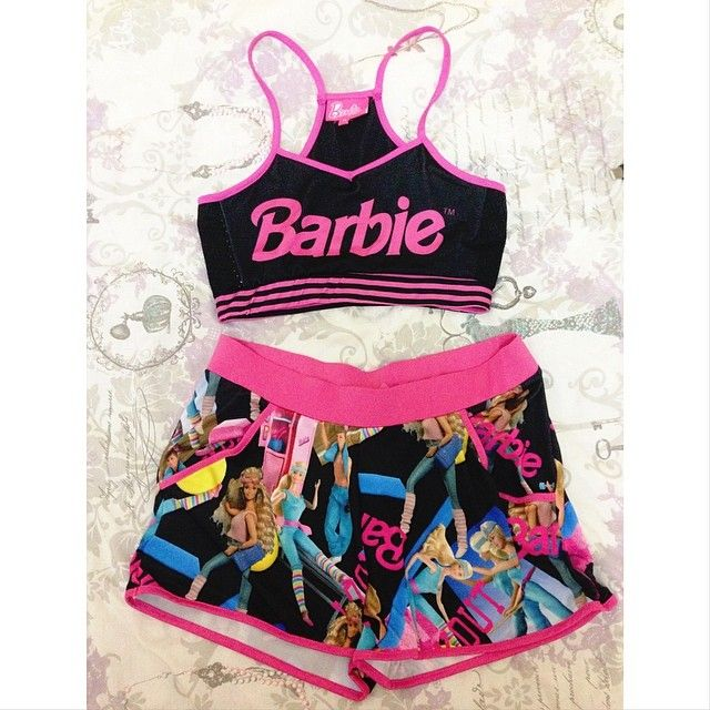 Barbie Workout Clothes!u2665u2665 | Girly Workout Clothing (wish List!) | Pinterest | Nike Pro Shorts ...