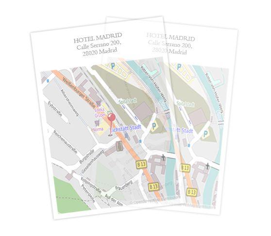 Mapas para #bodas, #cumpleaños, #bautizos,... en papel transparente. ¡Mucho más elegantes! http://www.sendmoments.es/otros-productos/papel-transparente.php