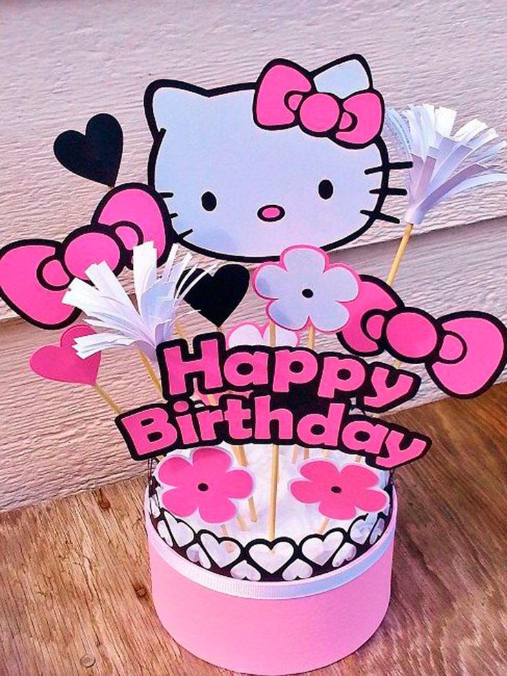 25 Unique Hello Kitty Centerpieces Ideas On Pinterest