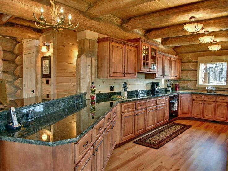Kitchens by motawi a collection of ideas to try about for Log cabin kitchen backsplash ideas