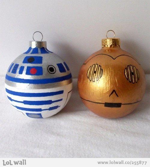 Star Wars baubles