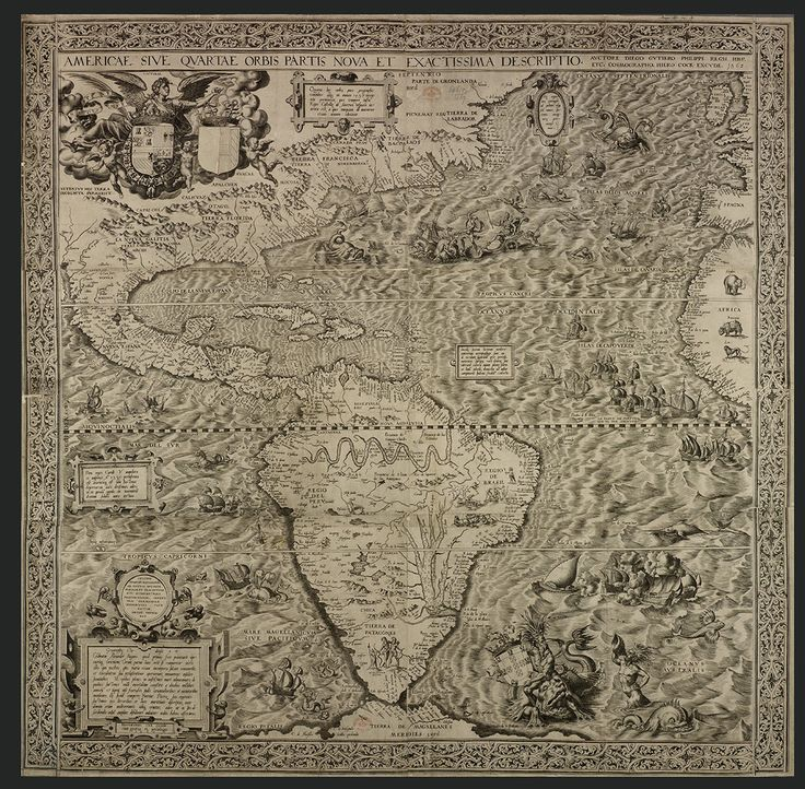 In 1562 Map Makers Thought America Was Full